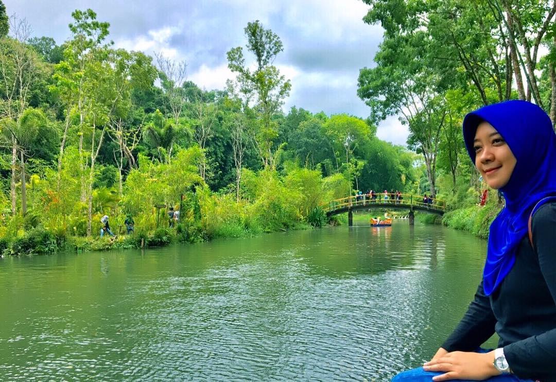 Danau Di Tengah Hutan Bambu
