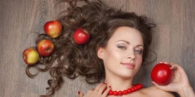 Cara Ampuh Merawat Rambut Menggunakan Kulit Buah Apel