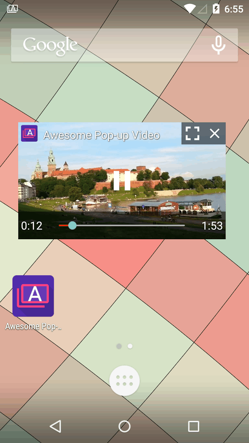 youtube videos awesome pop-up window app-suggestion buddy