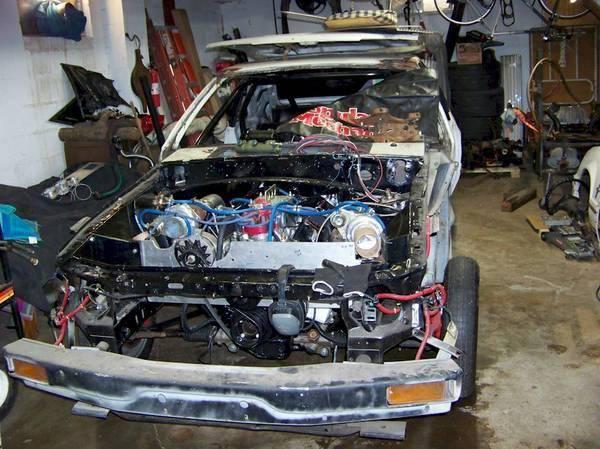 menjual mesin twin turbo Mustang Heres dengan harga yang cukup murah
