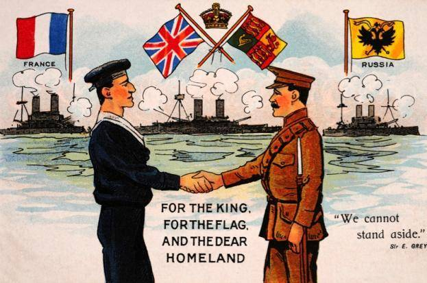 The first World War: what is to be achieved by the allies?