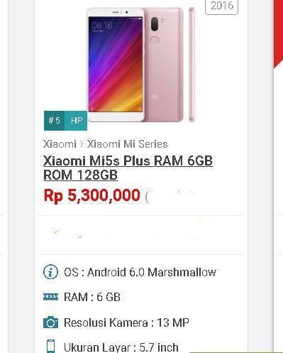 Xiaomi RAM 6GB Paling Keren