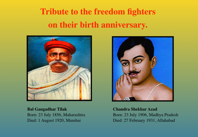 Their contributions will always remain in Indian hearts.